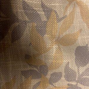 Zero Sun Curtain Accents - Leaf Curtain w metal grommets NEW
